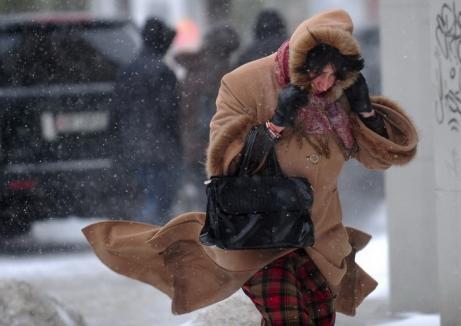 Alertă meteo: Cod galben de ploi şi vânt în Bihor