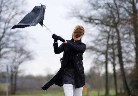 Alertă meteo: Vânt puternic de până la 110 kilometri pe oră!