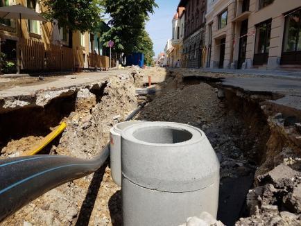 Vară pierdută: De ce vor ajunge marile lucrări ale Primăriei Oradea să dea peste cap oraşul din toamnă (FOTO)