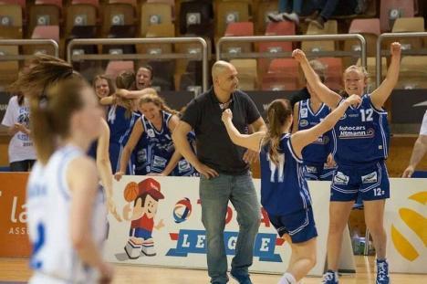 Echipa de baschet feminin CSU Oradea, la un nou început: Attila Veres a fost numit antrenor
