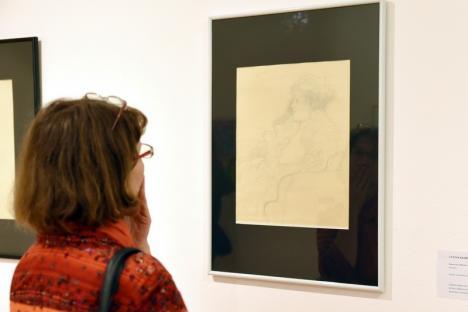 Expoziţia de grafică şi litografii de Picasso, Matisse, Klimt şi Dali a fost deschisă cu o veste bună: Muzeul Oradiei primeşte acreditare (FOTO)