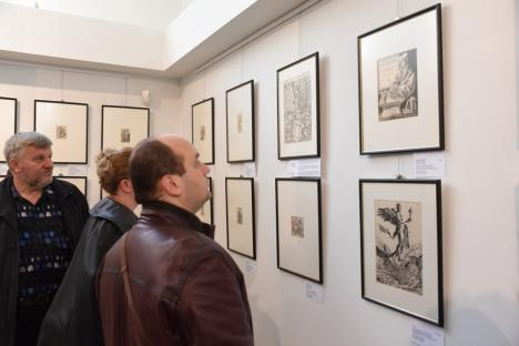 Lucrări originale ale unuia dintre 'maeştrii tuturor timpurilor', cu rădăcini în Bihor, expuse după 15 ani în Oradea!(FOTO)