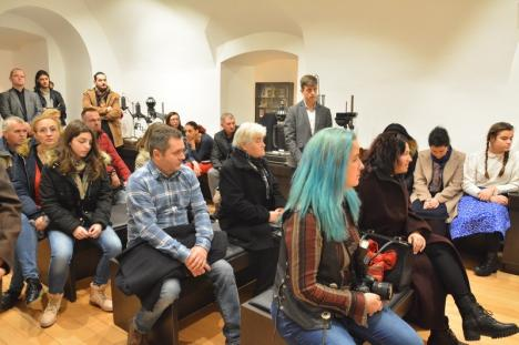 Vernisajul fotojurnaliştilor: Fotograful BIHOREANULUI, Szilágyi Loránd, a primit Cupa Fotoreporterilor Bihoreni (FOTO)