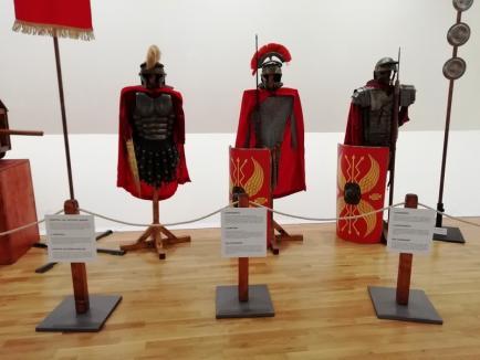 Premiată de preşedintele Italiei, expoziţia 'Roma Antică' poate fi văzută în premieră naţională la Muzeul Ţării Crişurilor (FOTO)