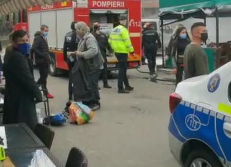 Scene şocante: Un bărbat a murit, după ce poliţiştii l-au trântit la pământ. Procurorii au deschis dosar penal pentru purtare abuzivă şi ucidere din culpă (VIDEO)