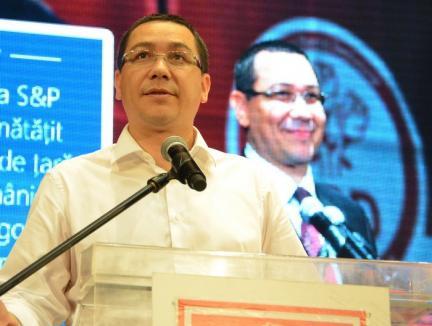 La loc comanda! Proiectul privind creşterea impozitelor, retras la cererea lui Victor Ponta