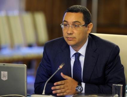 Ponta: Acordul de colaborare cu PPDD va fi semnat doar de PSD. Doar PSD va ceda funcţii către PPDD