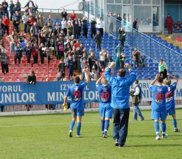 Bihorul a învins Clujul în derby-ul seriei a şasea