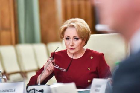 Reacţia premierului Viorica Dăncilă: 'Nu demisionez'