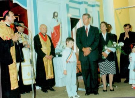 Episcopul greco-catolic de Oradea va celebra o liturghie pentru odihna sufletului Regelui Mihai