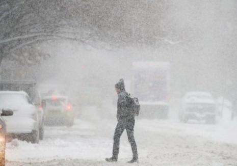 Avertizare meteo de ninsori, precipitații și polei