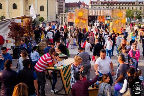 Street FOOD Oradea, între 17 şi 19 mai: Călătorie culinară senzațională, în Cetatea Oradea