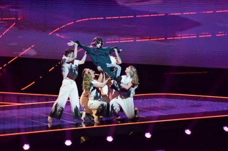 Stăpâna mișcărilor: Cum a ajuns o tânără din Oradea pe scena Eurovision și dansatoare la un show TV (FOTO / VIDEO)