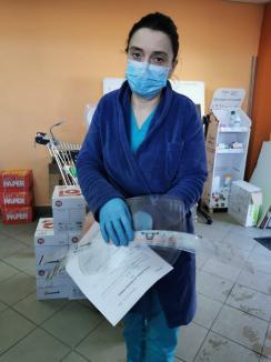 Linia întâi are nevoie de ajutorul tău! Bihorenii, îndemnaţi să doneze pentru vizierele necesare personalului medical (FOTO)