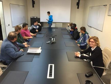 Elevii care învaţă sudură la Cadea şi-au vizitat viitoarele locuri de muncă (FOTO)