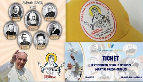 Două trenuri speciale! 4.600 de credincioşi greco-catolici bihoreni vor participa la liturghia oficiată la Blaj de Papa Francisc (FOTO)