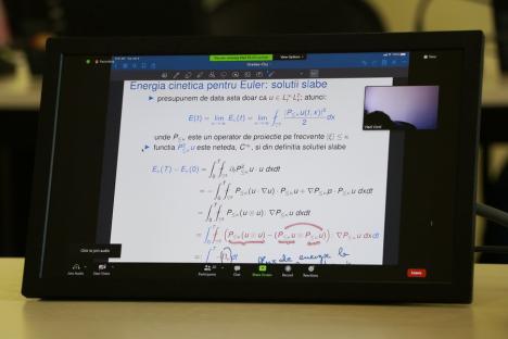 """Orădeanul Vlad Vicol, profesor de matematică în America, invitat să predea """"acasă"""" (FOTO)"""