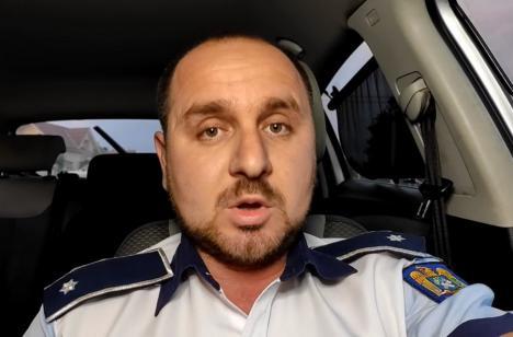 Poliţistul vlogger: Fostul adjunct al Poliţiei Beiuş, vedetă pe YouTube(VIDEO)