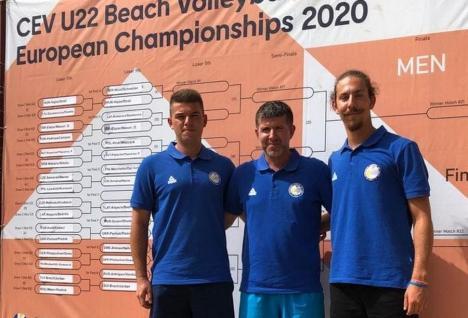 Doi orădeni au participat la Campionatul European de volei pe plajă U22 din Turcia, de la Izmir