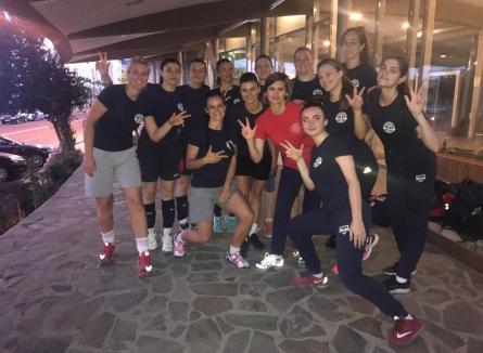 Voleibalistele de la CSU Oradea, la un pas de promovarea în Divizia A1!