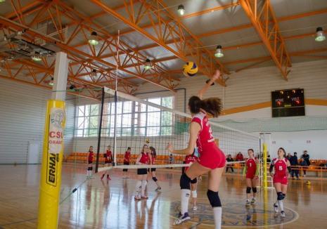 Voleibalistele de la CSU Oradea primesc replica celor de la SCM U Craiova