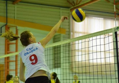 Volei feminin: CSU Oradea va găzdui turneul semifinal al Seriei Vest din Divizia A2