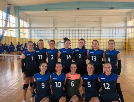 După un meci palpitant, tinerele voleibaliste de la LPS Bihorul Oradea au câştigat derby-ul cu LPS U Cluj-Napoca