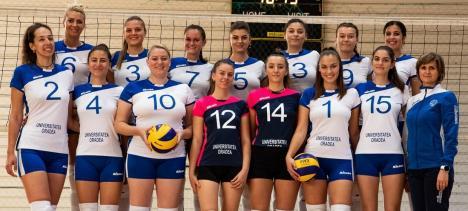 Începe și campionatul de volei: Fetele de la CSU Oradea joacă sâmbătă acasă cu Politehnica Timișoara (FOTO)