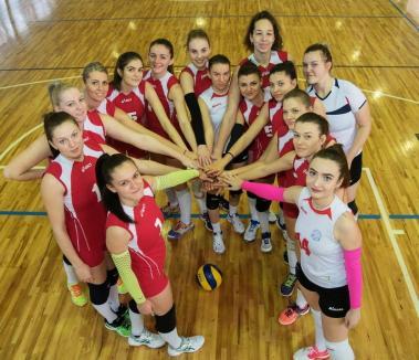 O nouă înfrângere, în deplasare, pentru voleibalistele de la CSU Oradea
