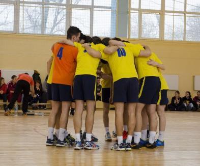 Tinerii voleibaliști de la LPS Bihorul, învinși la Șimleul Silvaniei