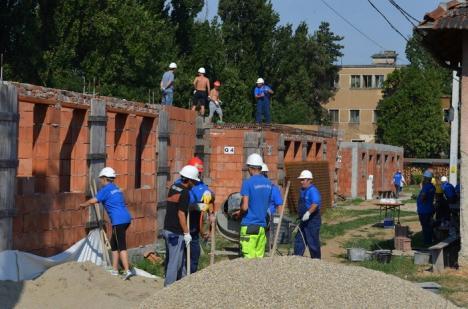 Compania de Apă Oradea a deschis robinetul la voluntariat (FOTO)