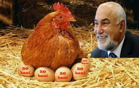 Oul din curul găinii