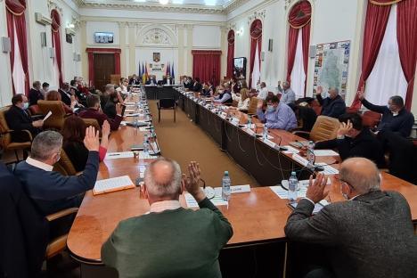 """Consiliul Judeţean Bihor mai """"taie"""" o finanţare pentru o ONG, căreia îi dădea 1.200 euro pe an"""