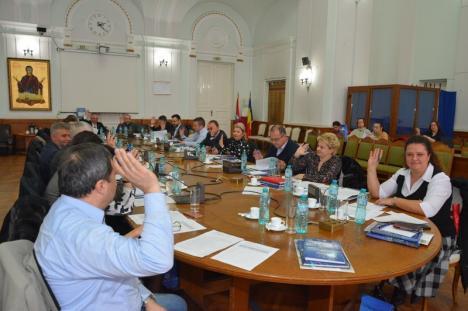 Consiliul Local Oradea: 430 de hotărâri aprobate în 26 de minute, majoritatea privind supraimpozitarea clădirilor nereabilitate cu 500%