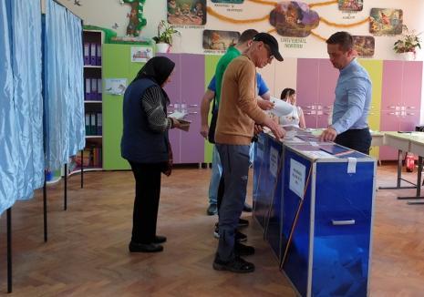 Rezultate provizorii ale alegerilor de duminică. Vezi cum au votat bihorenii!