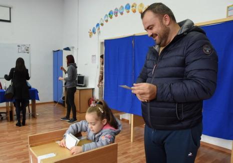 REZULTATE FINALE în Bihor: Iohannis, pe primul loc, urmat de Dăncilă şi Kelemen. Câte voturi a primit Cumpănaşu