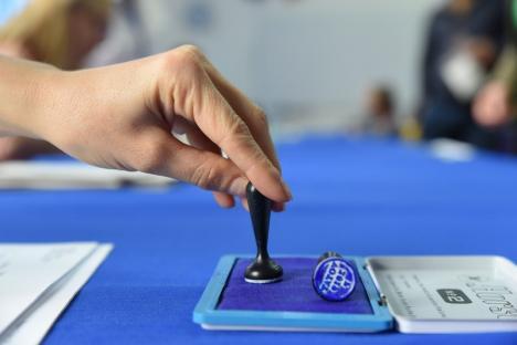 Prezența la vot în primul tur al alegerilor prezidențiale: În Bihor, și-au exprimat opțiunea 48,40% dintre electori