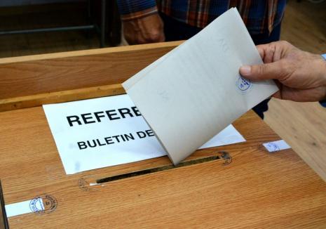 Rezultate provizorii la referendumul pentru Justiţie: Vot masiv pentru 'da'