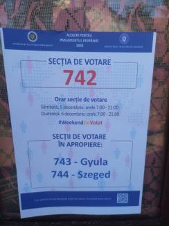 O parte din bihoreni au început deja să voteze pentru Parlament: cei care locuiesc în satele de frontieră din Ungaria