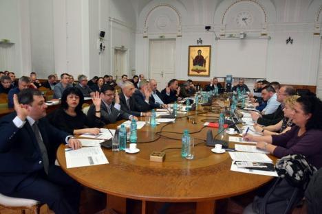 Consiliul Local a votat: Bugetul Oradiei pe anul 2018 se ridică la un miliard de lei