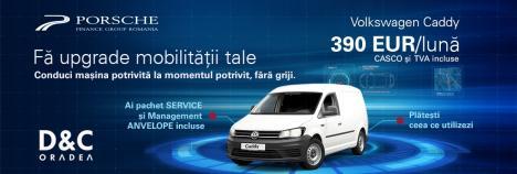 D&C Oradea ţi-a pregătit un pachet complet de mobilitate, sub forma unui Abonament lunar pentru Volkswagen autovehicule comerciale!
