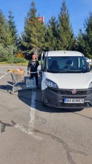 We shop, un concept local al unui tânăr din Oradea, duce cumpărăturile gratisbătrânilor (FOTO)
