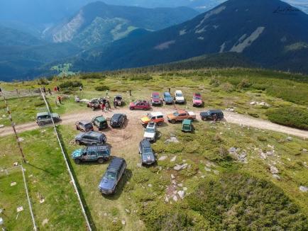 Off-road pe lângă lege: Membrii clubului West Alpine riscă amenzi, după ce au intrat cu maşinile în zone interzise din Parcul Natural Apuseni