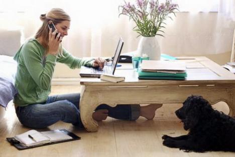 Undă verde pentru tele-salariaţi: Guvernul a aprobat munca la distanţă, prin care angajatul poate lucra de acasă