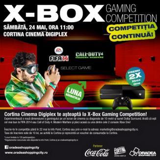 Cinema Cortina îi provoacă pe pasionaţii jocurilor X-Box la o competiţie