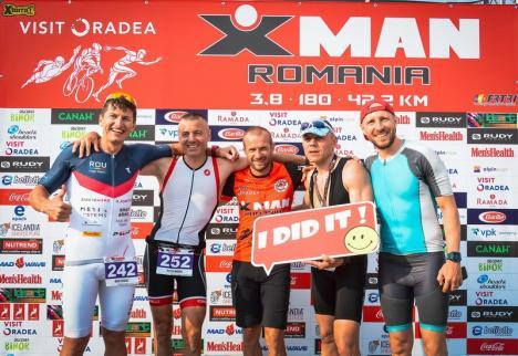 Cel mai important eveniment din triatlonul românesc, AROBS X-Man România, va fi găzduit de Oradea în prima zi din iunie