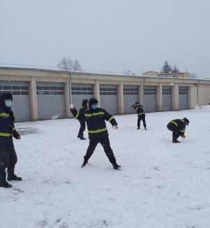 Oradea albă: Cum s-au bucurat orădenii de prima zi cu zăpadă abundentă din acest sezon (FOTO)