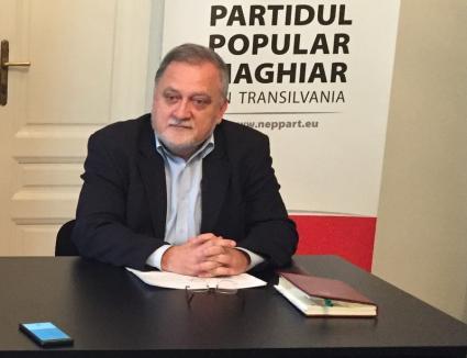 Consilierul PPMT al primarului Oradiei, Zatykó Gyula, e mulţumit de colaborarea cu Ilie Bolojan