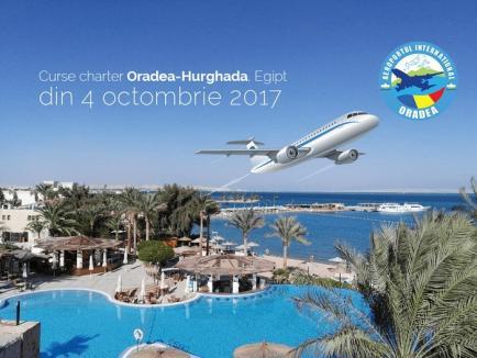 Curse charter spre Egipt de pe Aeroportul Oradea!