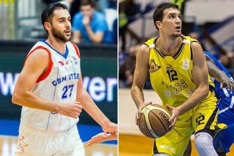 Baschet: CSM CSU Oradea a achiziţionat doi jucători sârbi